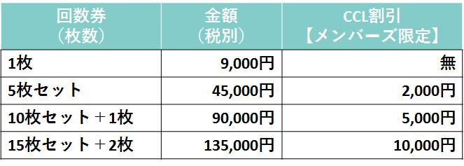 CCS_受講料